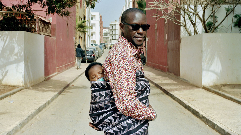 'How I made fathers in Senegal carry babies on their backs'