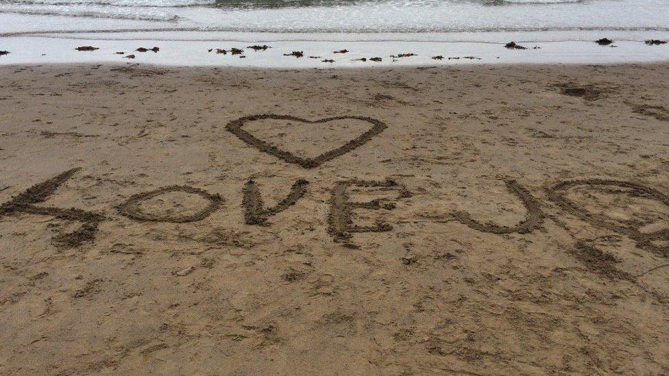 Beach in Scarborough