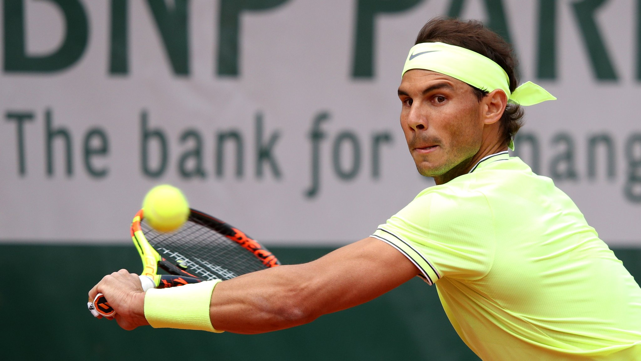 Nadal beats Hanfmann to move in French Open second round