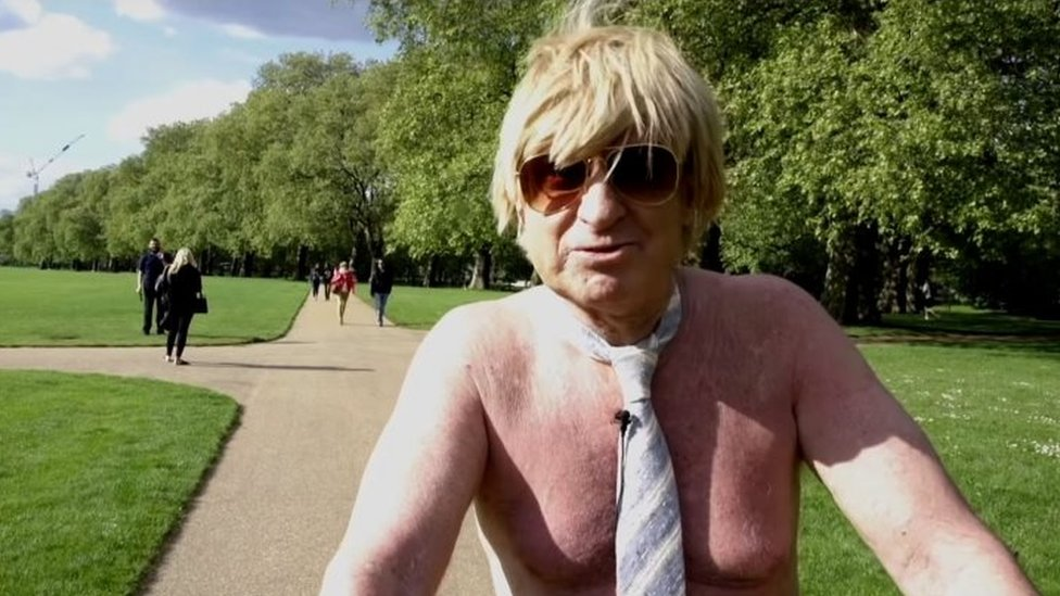 Conservative MP Michael Fabricant 'cycles naked through London park'
