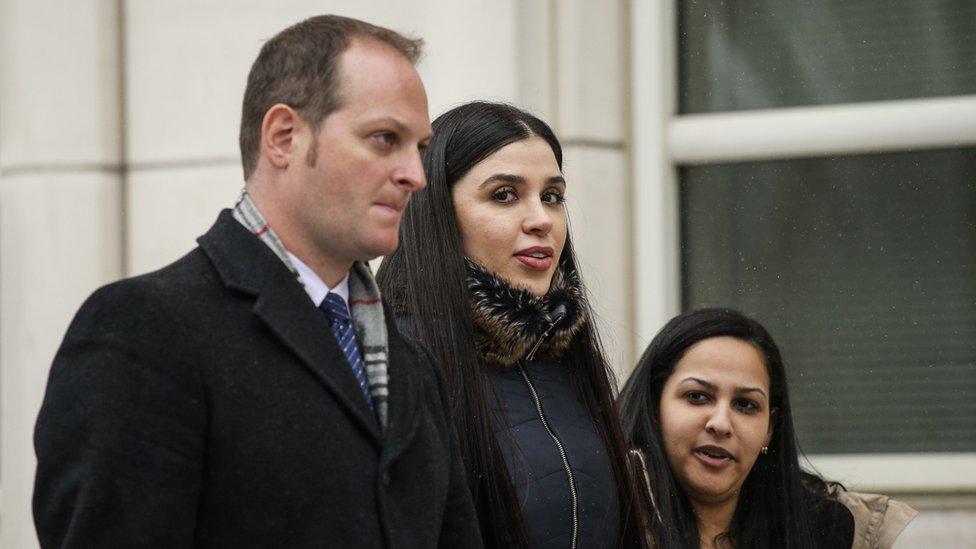 Emma Coronel, esposa del Chapo Guzmán NO USAR / BBC