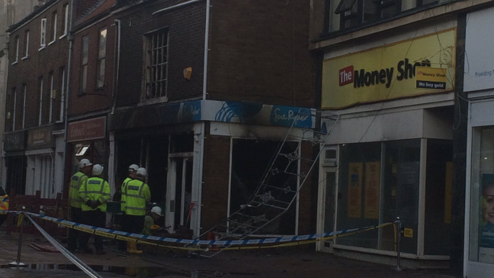 King's Lynn Sue Ryder shop investigated after fire