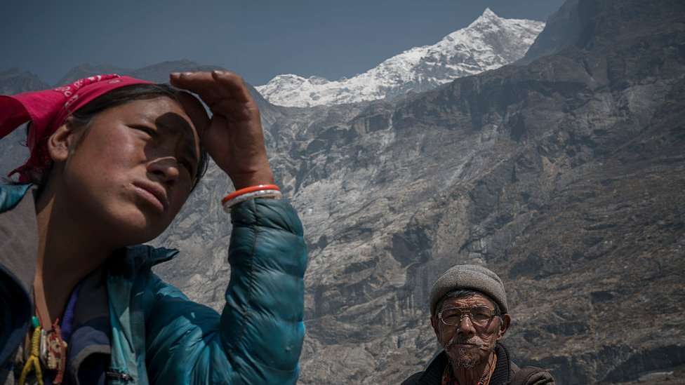 Locals in Lantang valley try to rebuild their villages after the earthquake buried it with avalanche and rockfalls killing hundreds of people