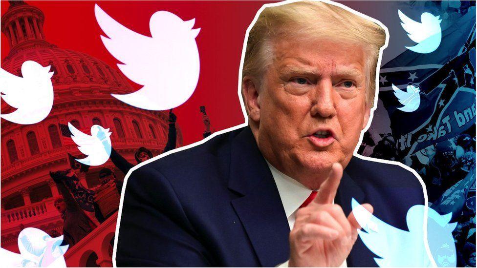 特朗普偏愛用推特發佈消息和個人看法