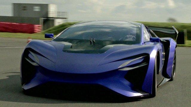 A Techrules concept car