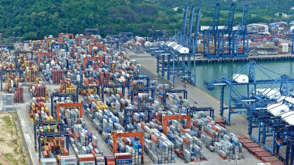 Puerto de Balboa, Panamá