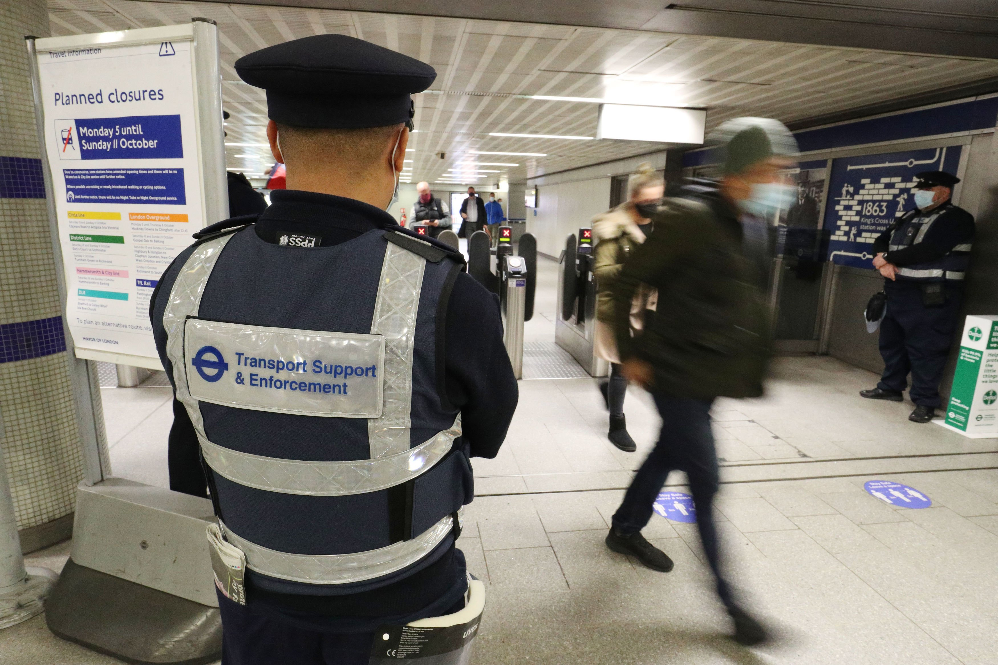 TFL Enforcement officers