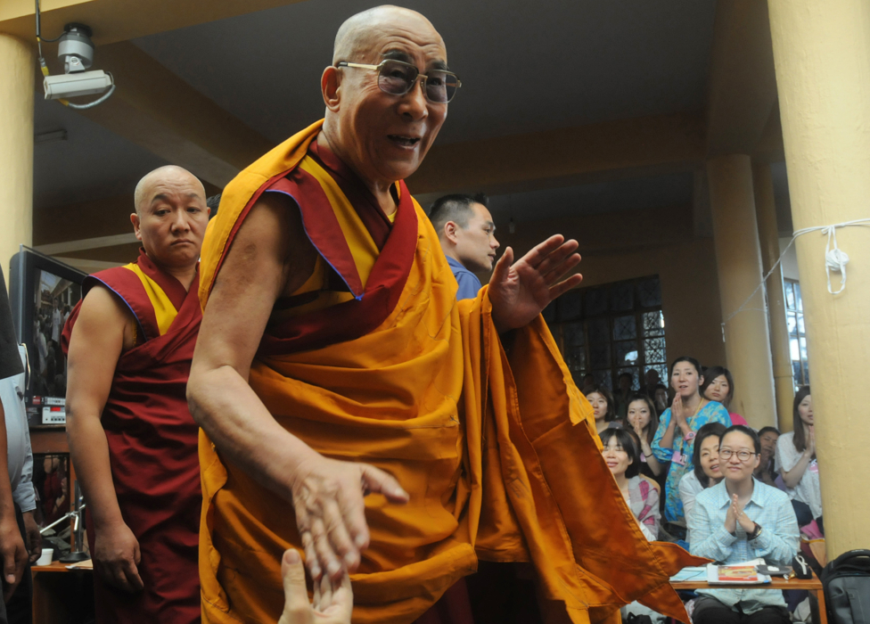 The Dalai Lama in 2012