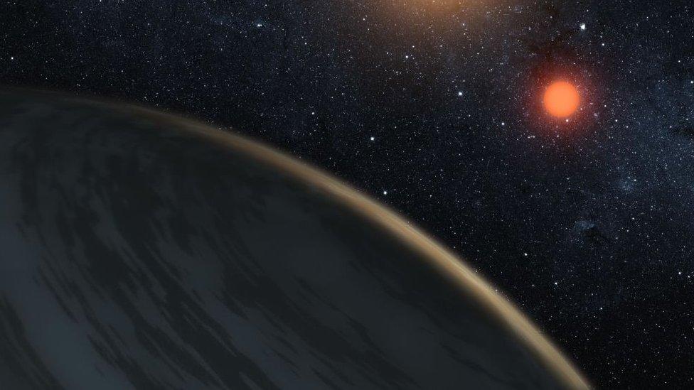 Creación artística a partir de las imágenes captadas por la sonda Kepler.