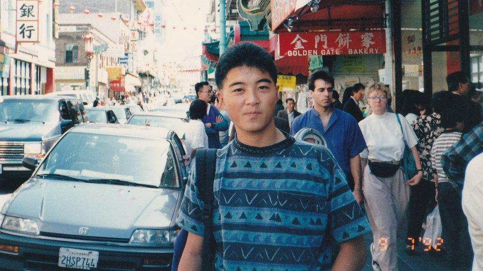 Jošhiro Hatori u San Francisku 1992