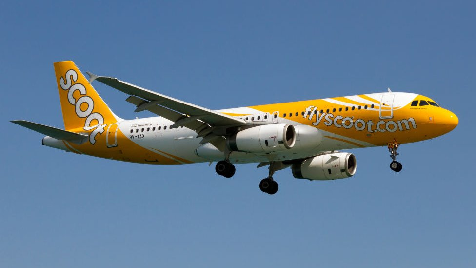 File photo of a Scoot Airbus 320