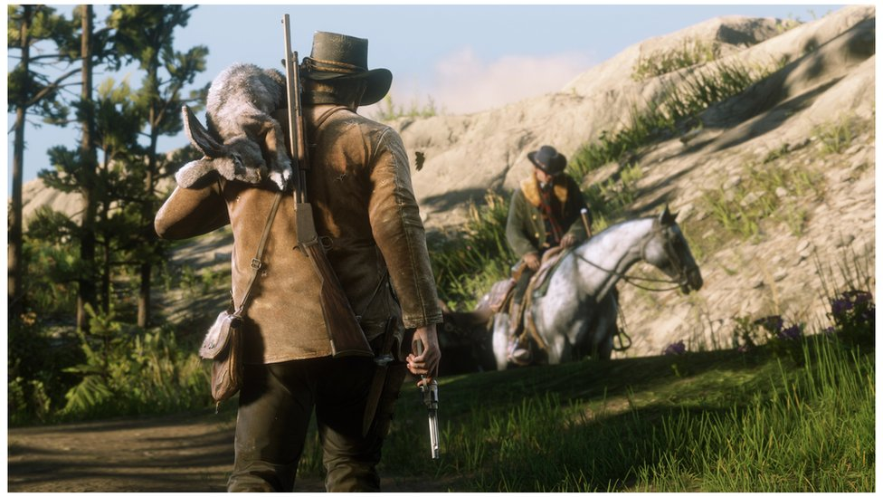 Escena de Red Dead Redemption 2