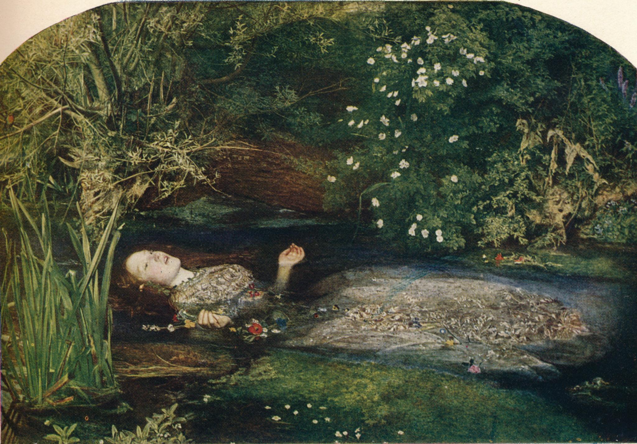 Ofelia, de John Everet Millais
