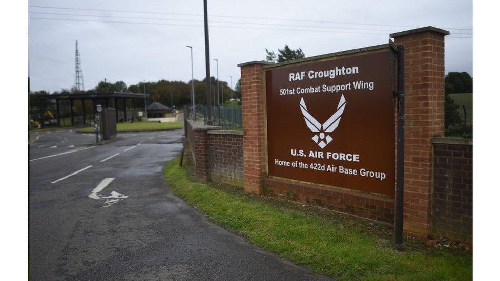 克勞頓(Croughton)美國空軍基地