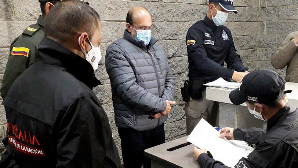 Rodrigo Tovar Pupo: Colombia arrests deported AUC ex-leader 'Jorge 40' thumbnail