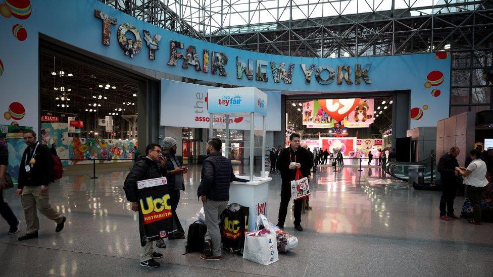 Feria en Nueva York