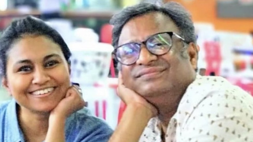Vineeta Sharma and Tanvir Aeijaz
