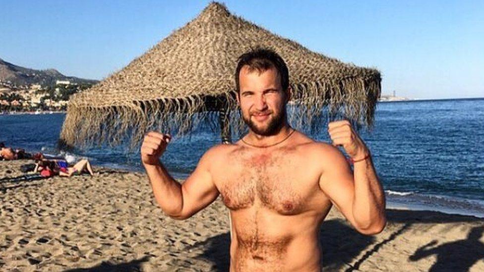 Nikolay Sokolov on holiday