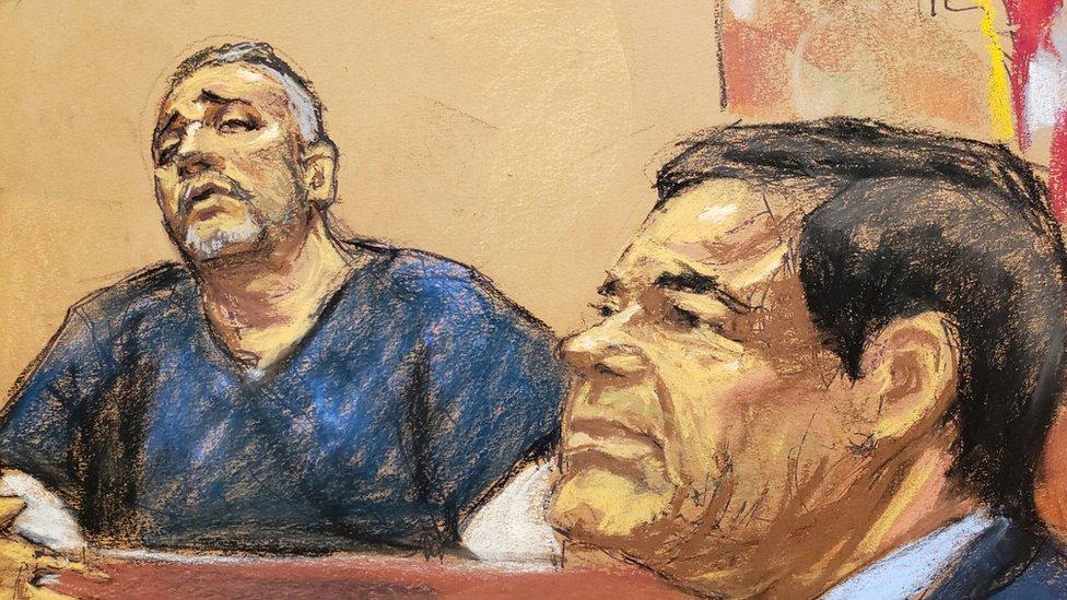 إل شابو في المحكمة