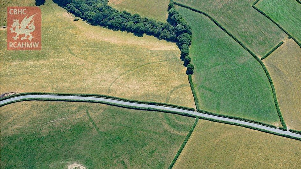 An Iron Age farmstead near Whitland in Carmarthenshire