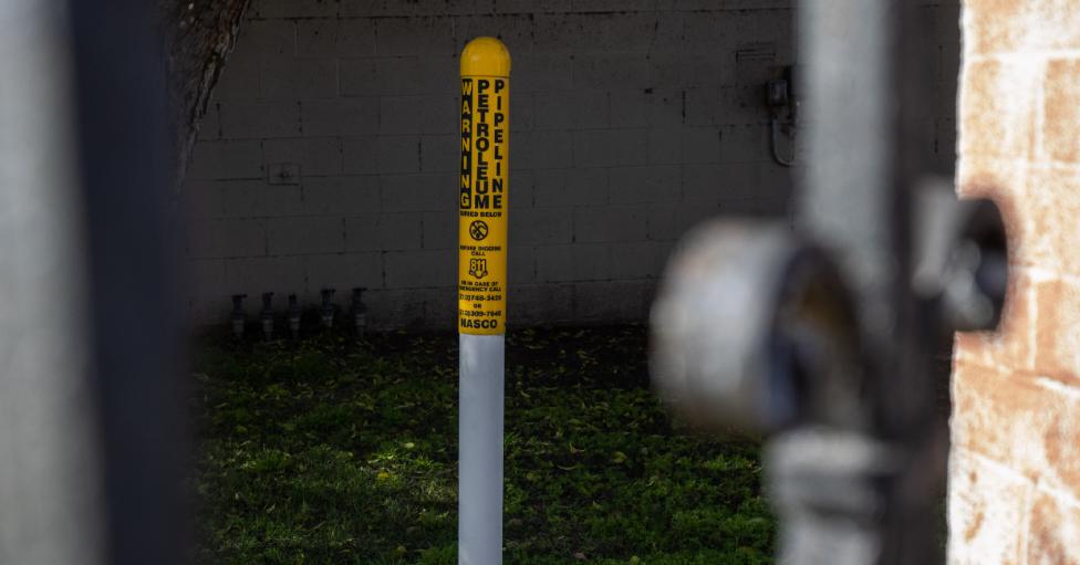 La petrolera AllenCo estaba operando en un barrio residencial de Los Ángeles.