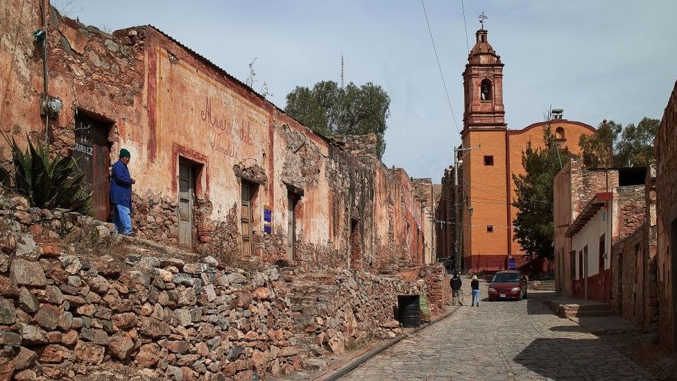 Valle de San Pedro en México