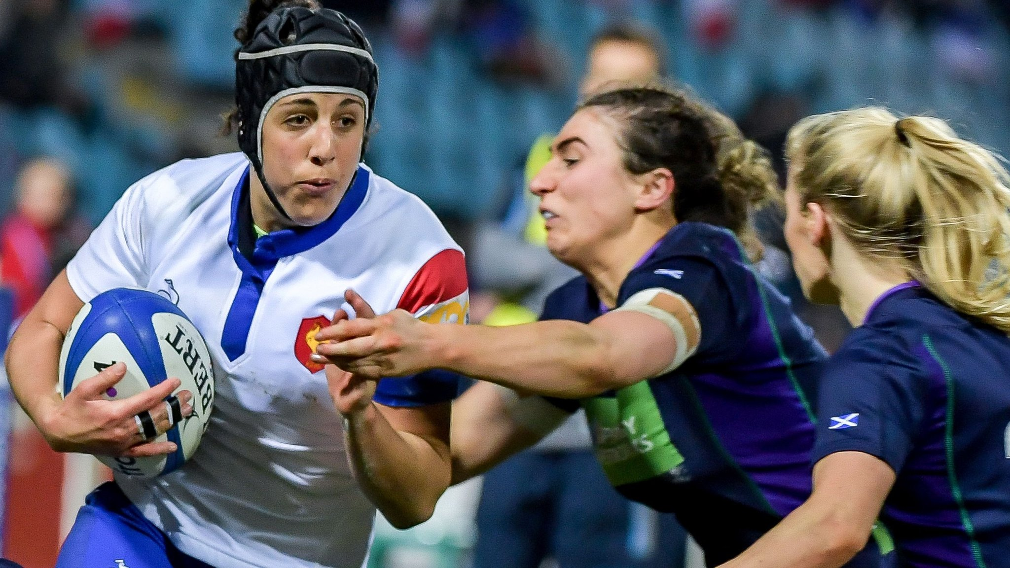 Vernier scores hat-trick as France beat winless Scotland in Women's Six Nations
