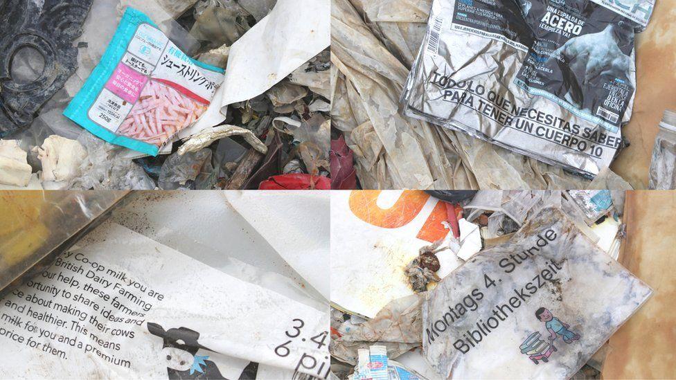 Residuos plásticos en Jenjarom