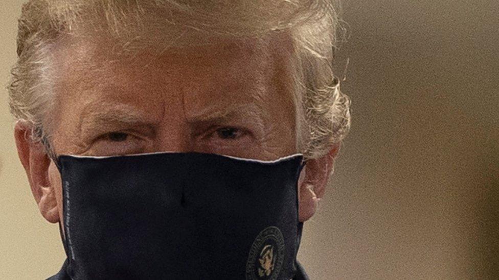 Maskeli Trump
