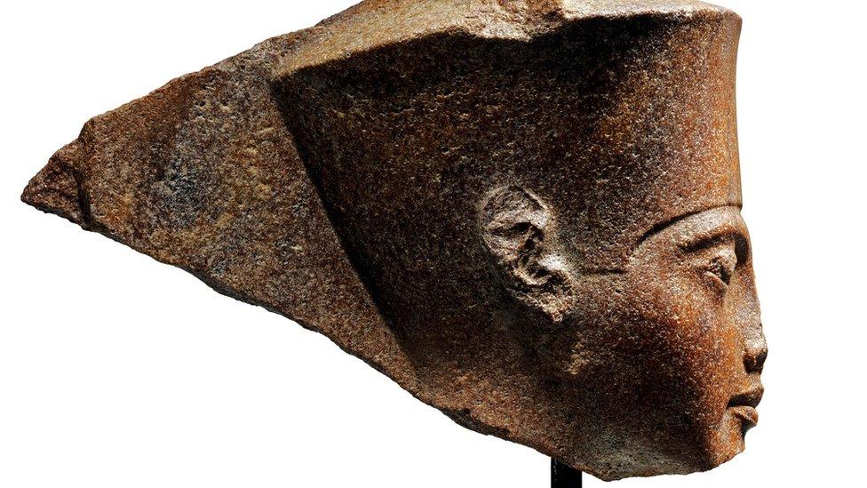 Tutankhamun bust