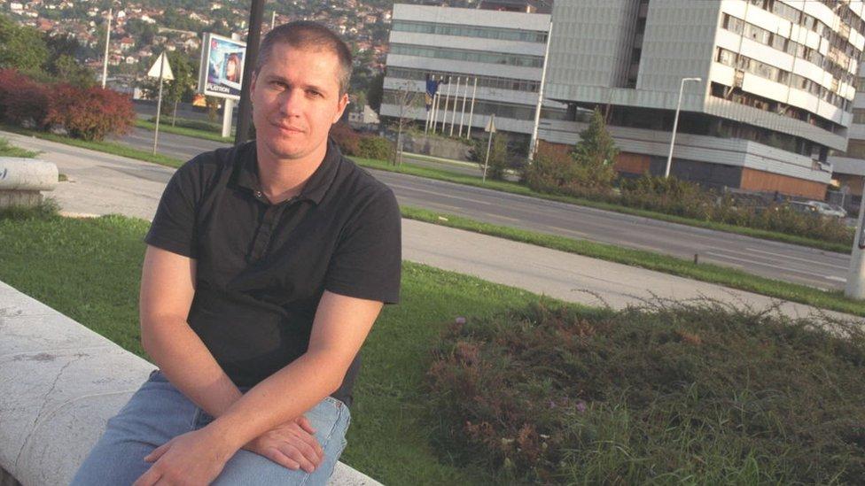 Aleksandar Hemon u Sarajevu