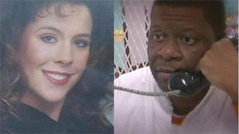 Stacey Stites and Rodney Reed