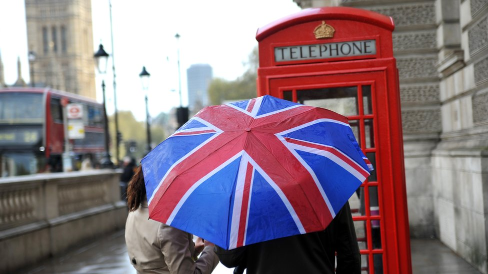 Paraguas en Londres