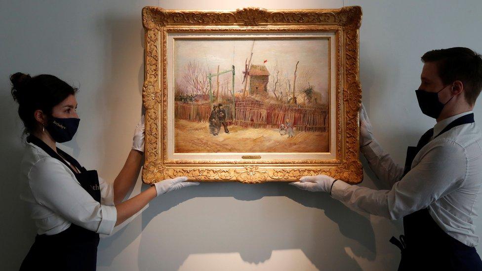 """""""Escena en Montmartre"""", de Vincent Van Gogh"""