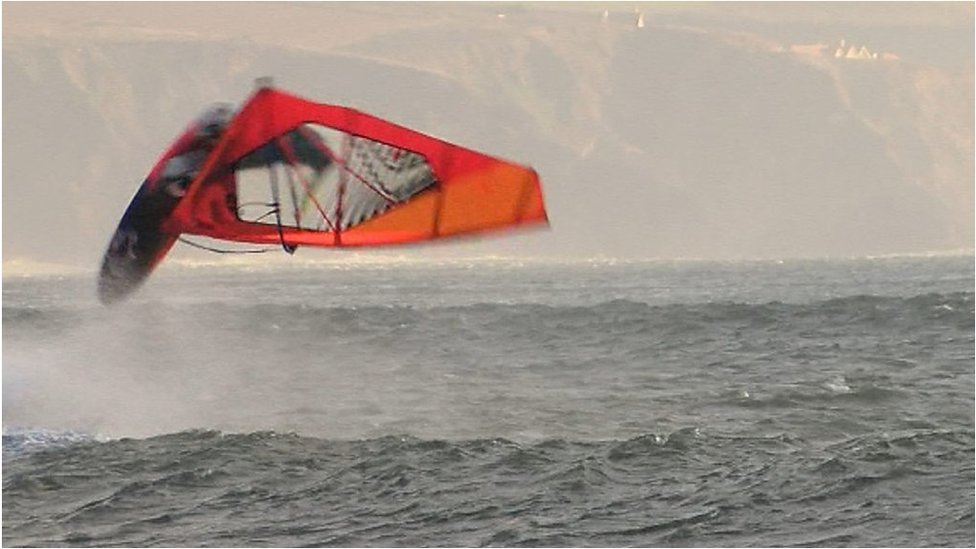 Meet the Devon woman who rules the waves in windsurfing