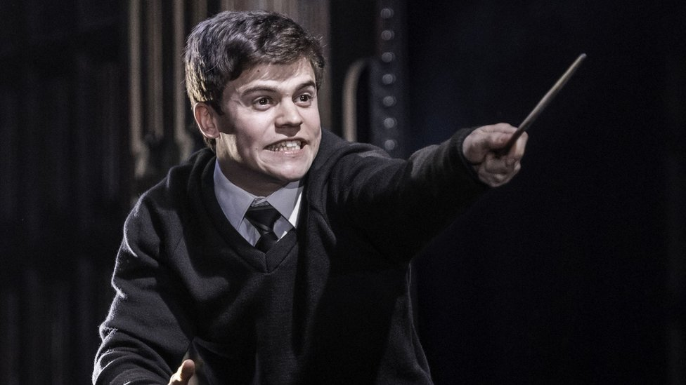 Sam Clemmett as Albus Potter in Harry Potter And The Cursed Child