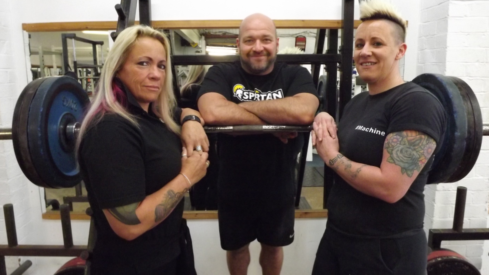 'How powerlifting saved my life'