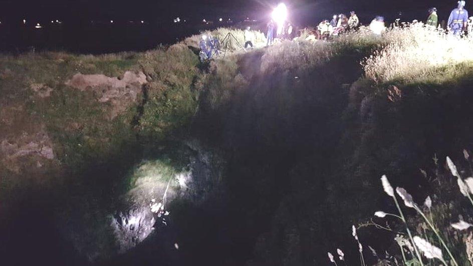 Boy falls down 80ft Cornish coastal blowhole