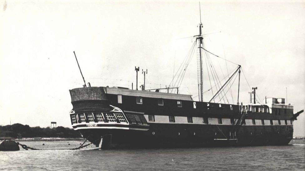 TRINC exterior ship