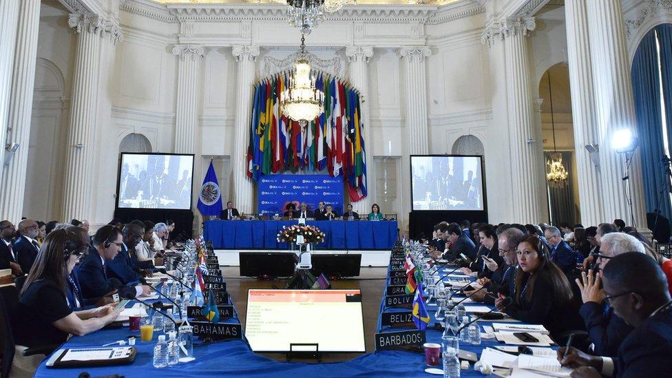 La 48 sesión de la Asamblea General de la OEA