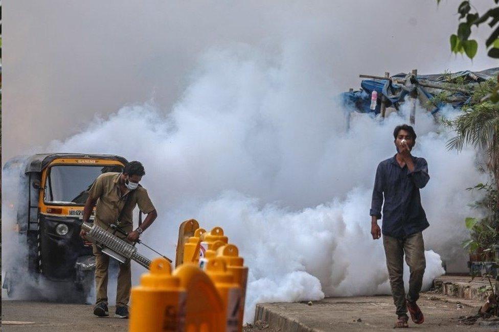مومباي هي واحدة من أكثر المدن تضررا في الموجة الثانية في الهند