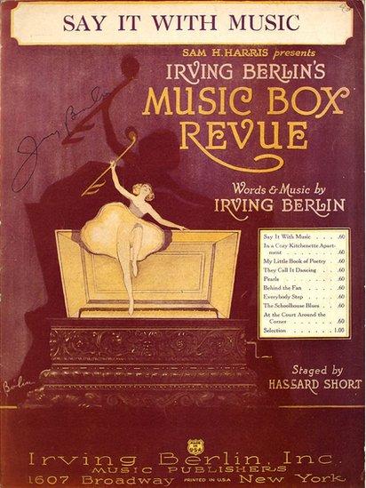 Obra de Irving Berlin.