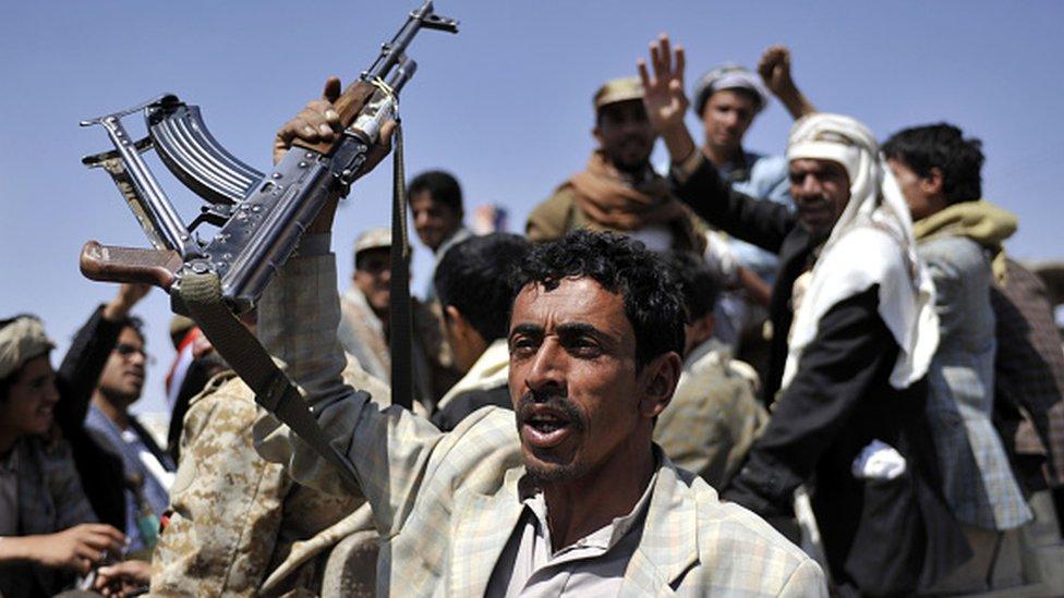 Husi gruplar Eylül 2014'te Sanaa'ya girdi