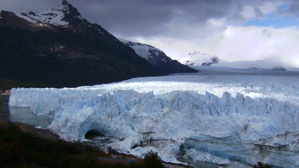 Glaciar Perito Moreno. Noviembre de 2015