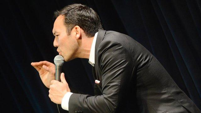 Comedian Steve Byrne