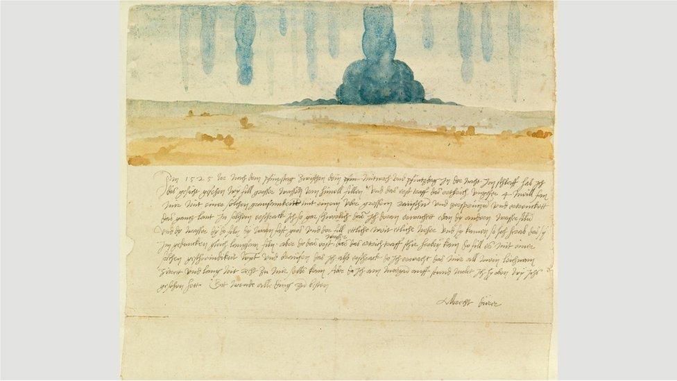 """Vizija iz sna"" (1525) Albrehta Direra prvi je zabeleženi opis slikarevog ličnog sna u zapadnoj umetnosti"