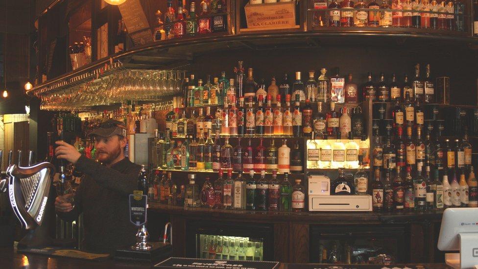 Coronavirus Pub Opens At Midnight As Lockdown Eases Bbc News