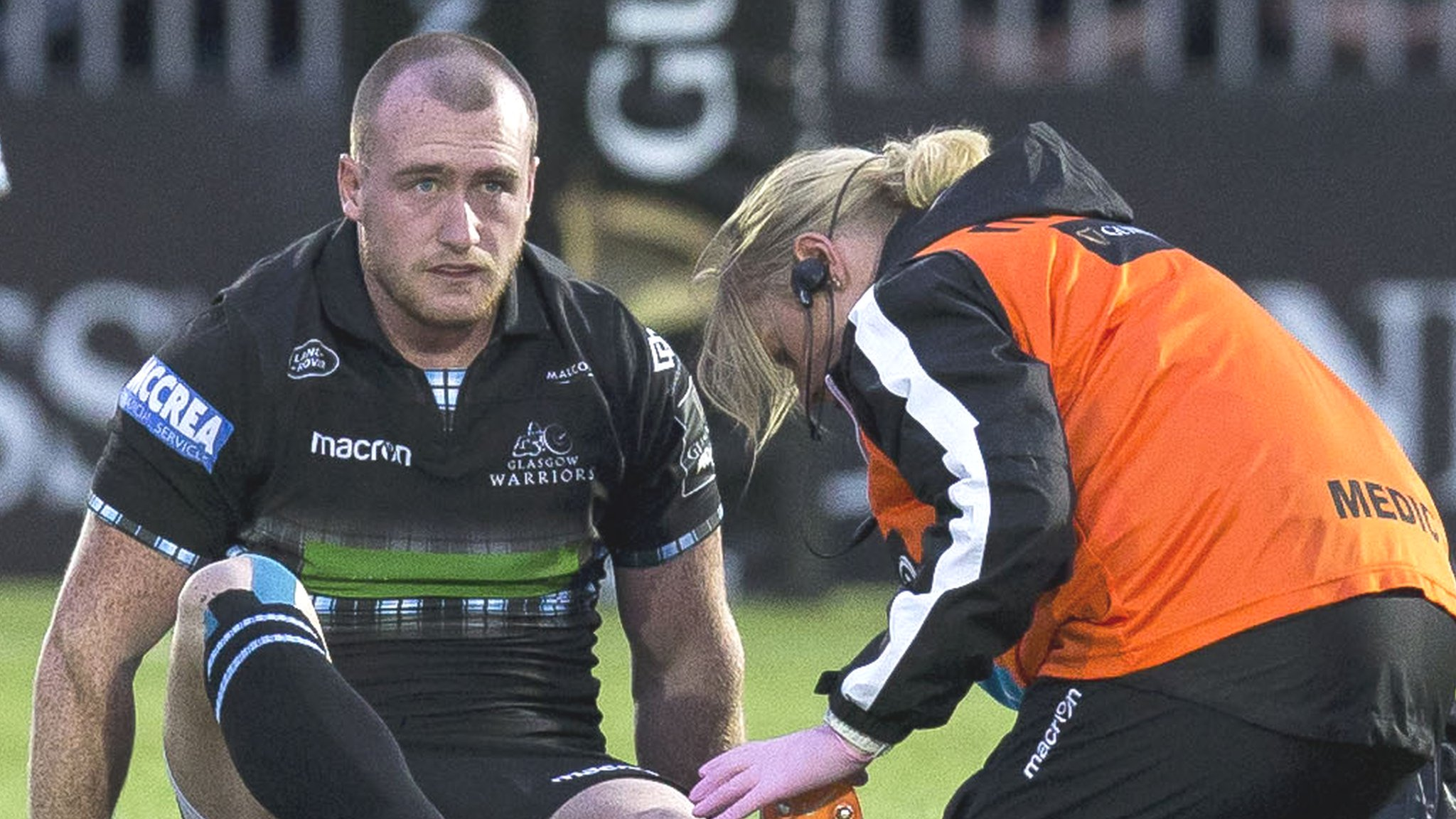 Stuart Hogg: Glasgow & Scotland full-back awaits result of ankle scan