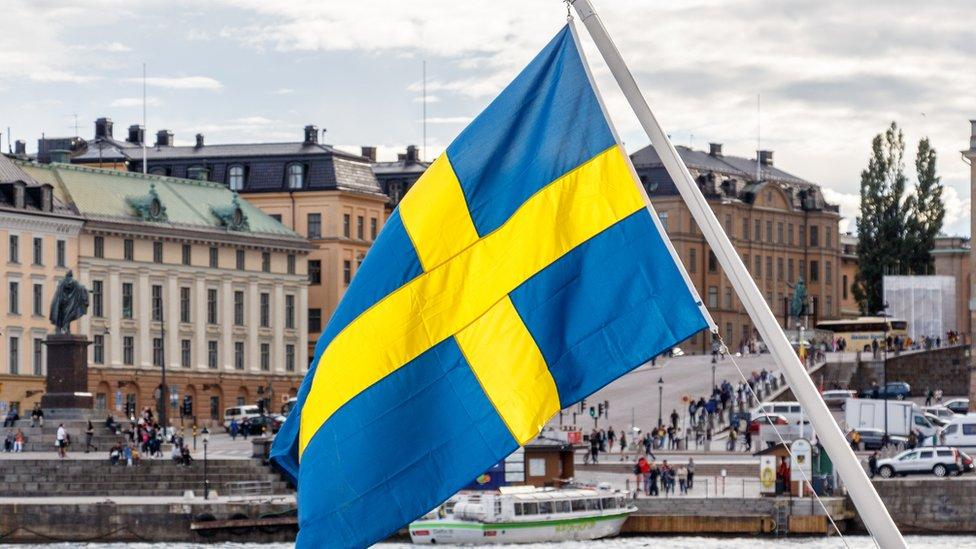 Bandera de Suecia
