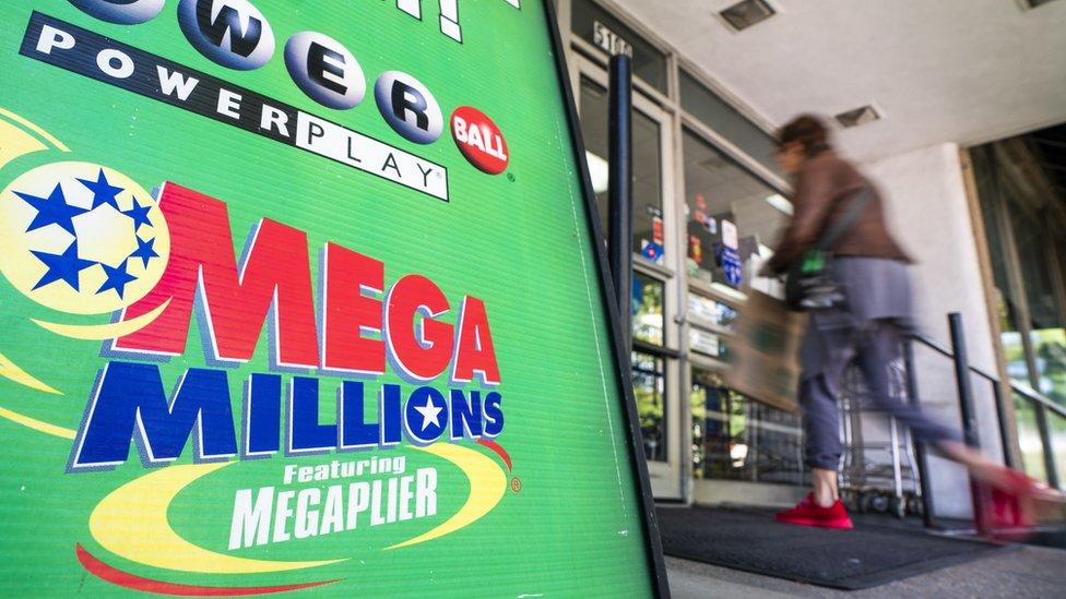 متجر يبيع تذاكر ميغا مليونز في واشنطن